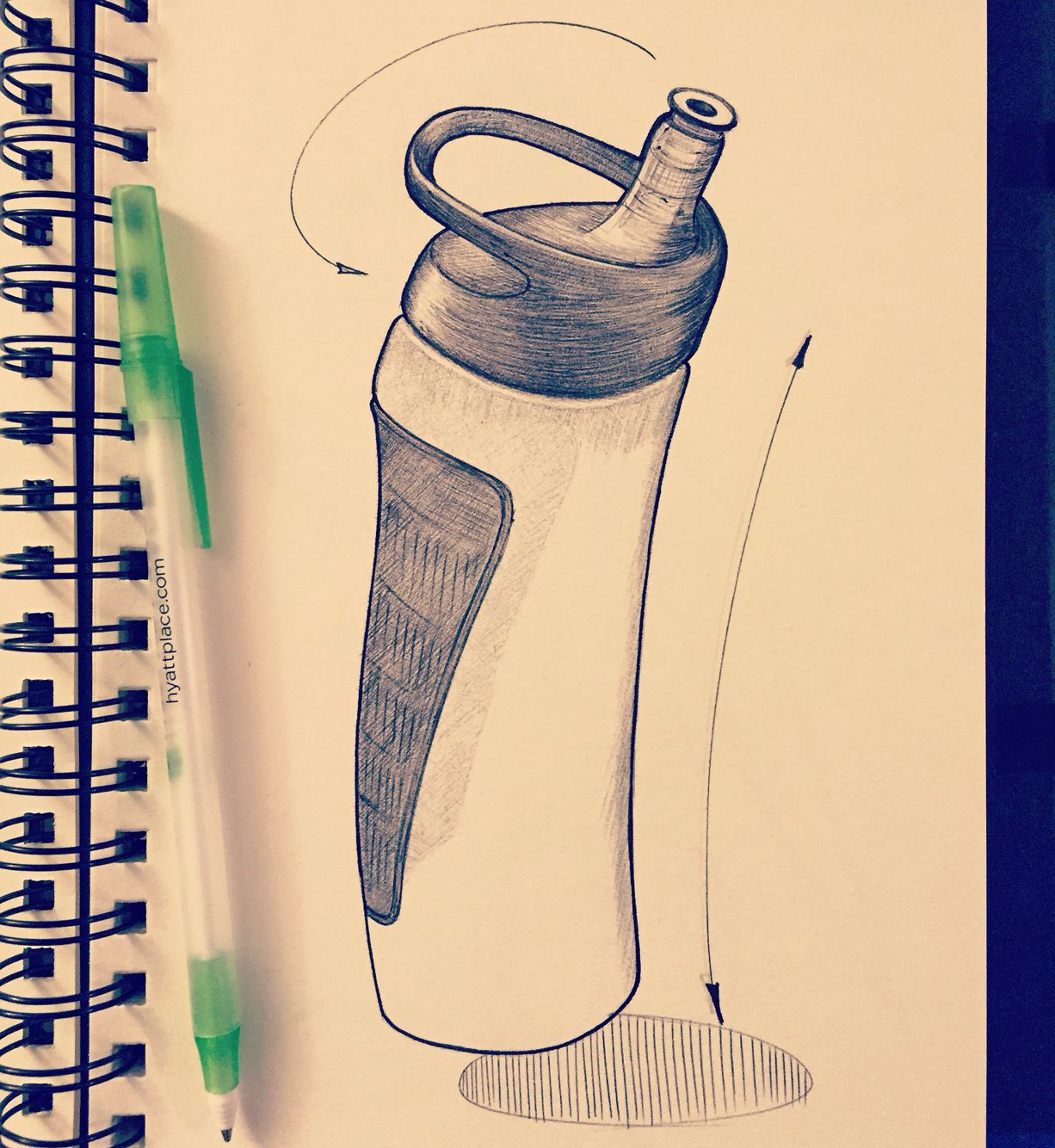 Sports drink bottles water bottle drawing water bottle