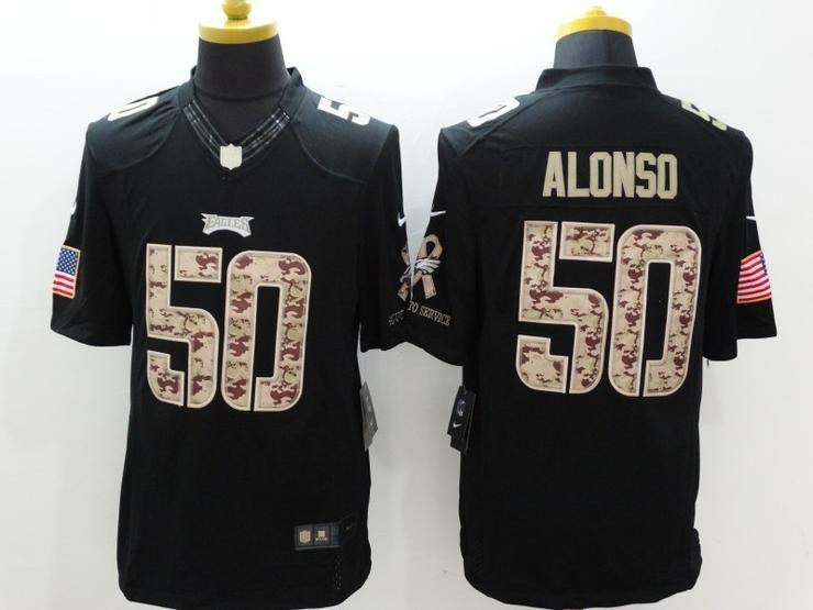 96e1c59f3 Men 50 Kiko Alonso Jersey Football Philadelphia Eagles Jersey ...