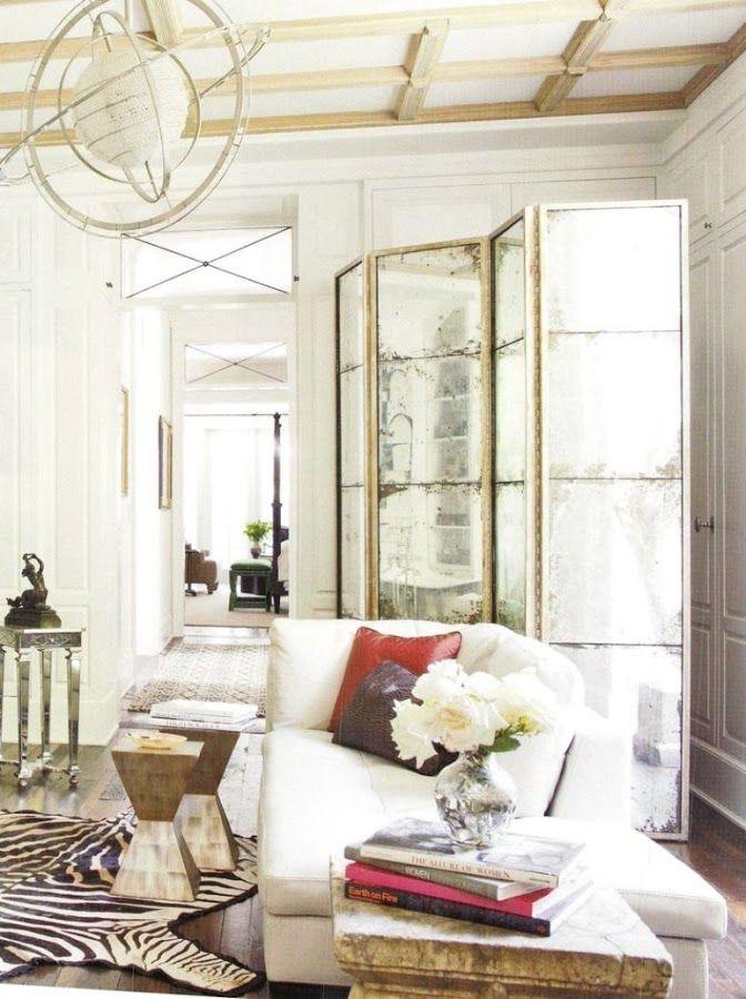 los biombos son geniales para decorar nuestras paredes usarlos como cabecero para separar ambientes