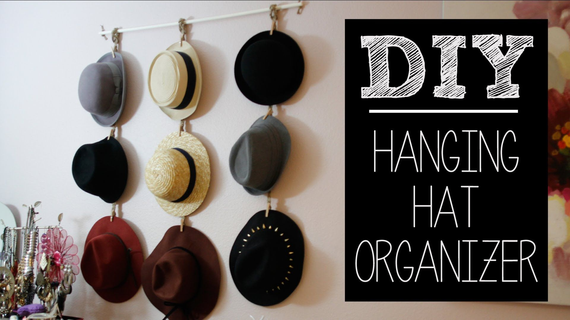 Get Cozy and Clean Room with Creative Hat Rack Ideas + Pros Cons