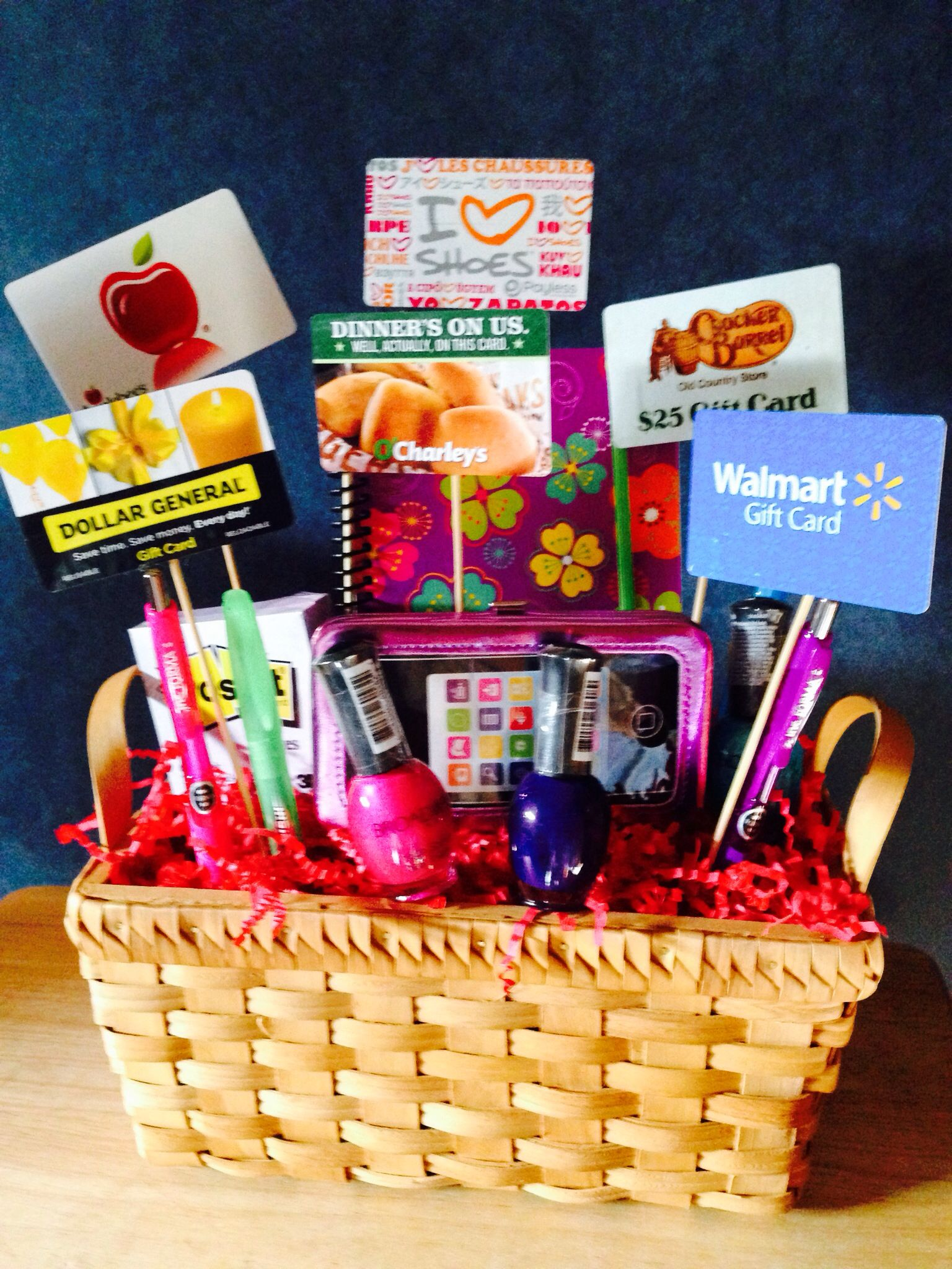 Gift card basket gift card bouquet gift card tree diy