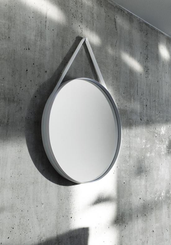 Wandspiegel Strap Von Hay Grau Spiegel Schmucken Spiegel