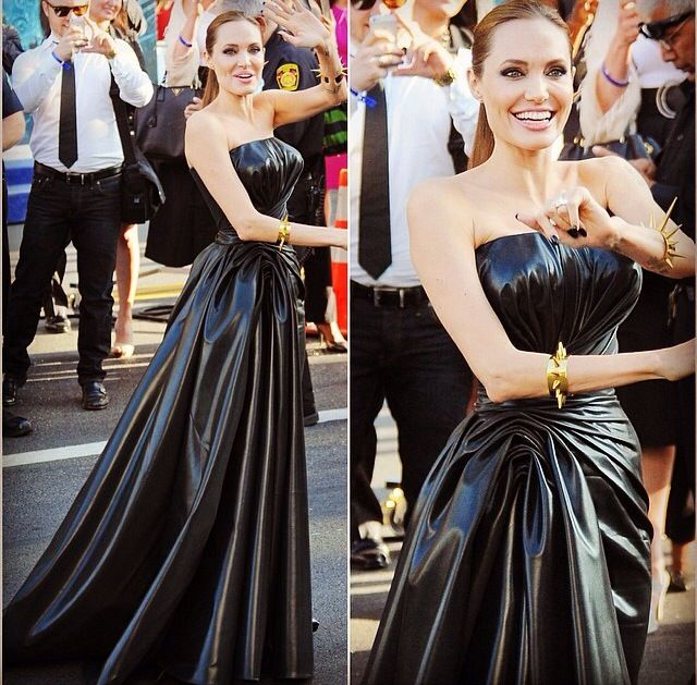 Angelina Jolie at Maleficent Premier... In love with her