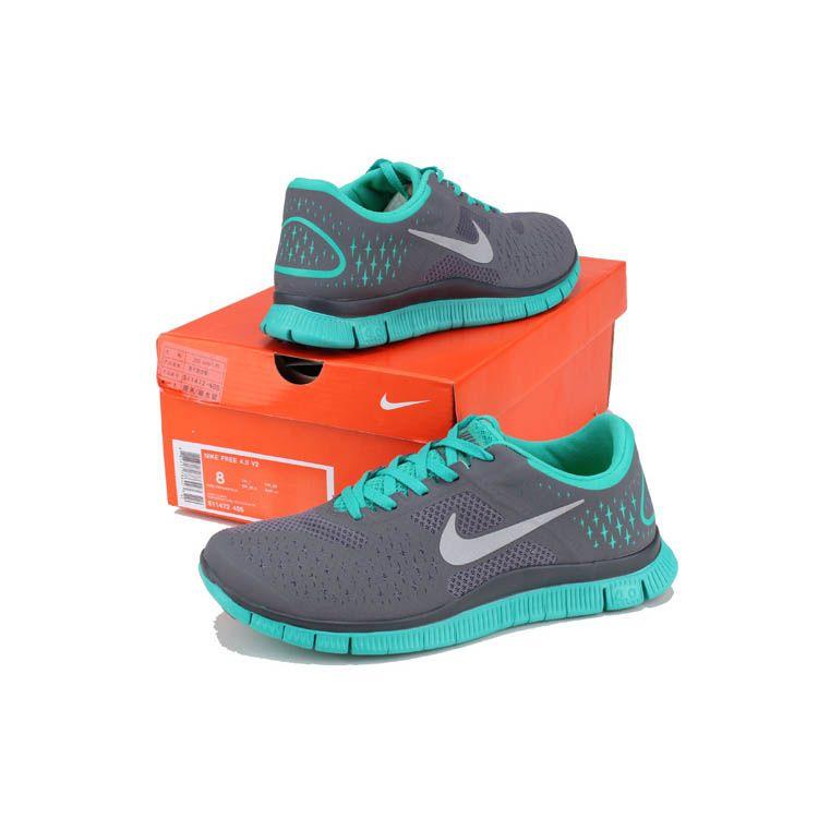 release date: 927f1 7f6bf US1122-2013 Herren Nike Free 4.0 V2 Türkis Grau - - €63.61