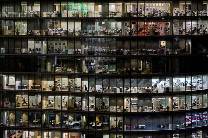 Slawek Kozdras, winner: The photo shows an office building on the south bank of the river Thames in London. What I liked about this shot is ...