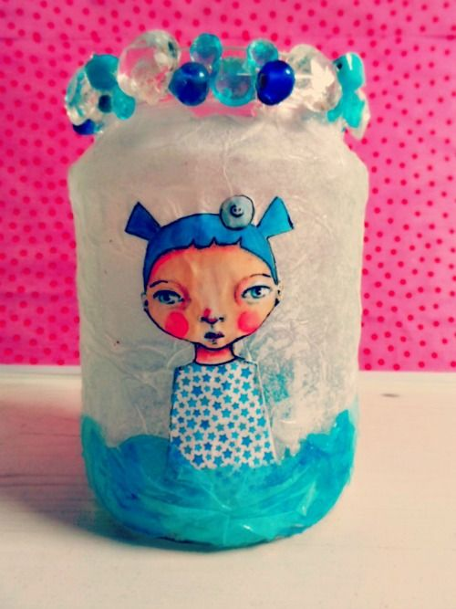 manonpopjes-recycled glass jars
