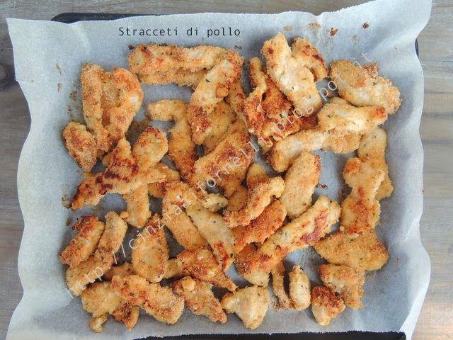 Cinzia ai fornelli: Straccetti di pollo al forno
