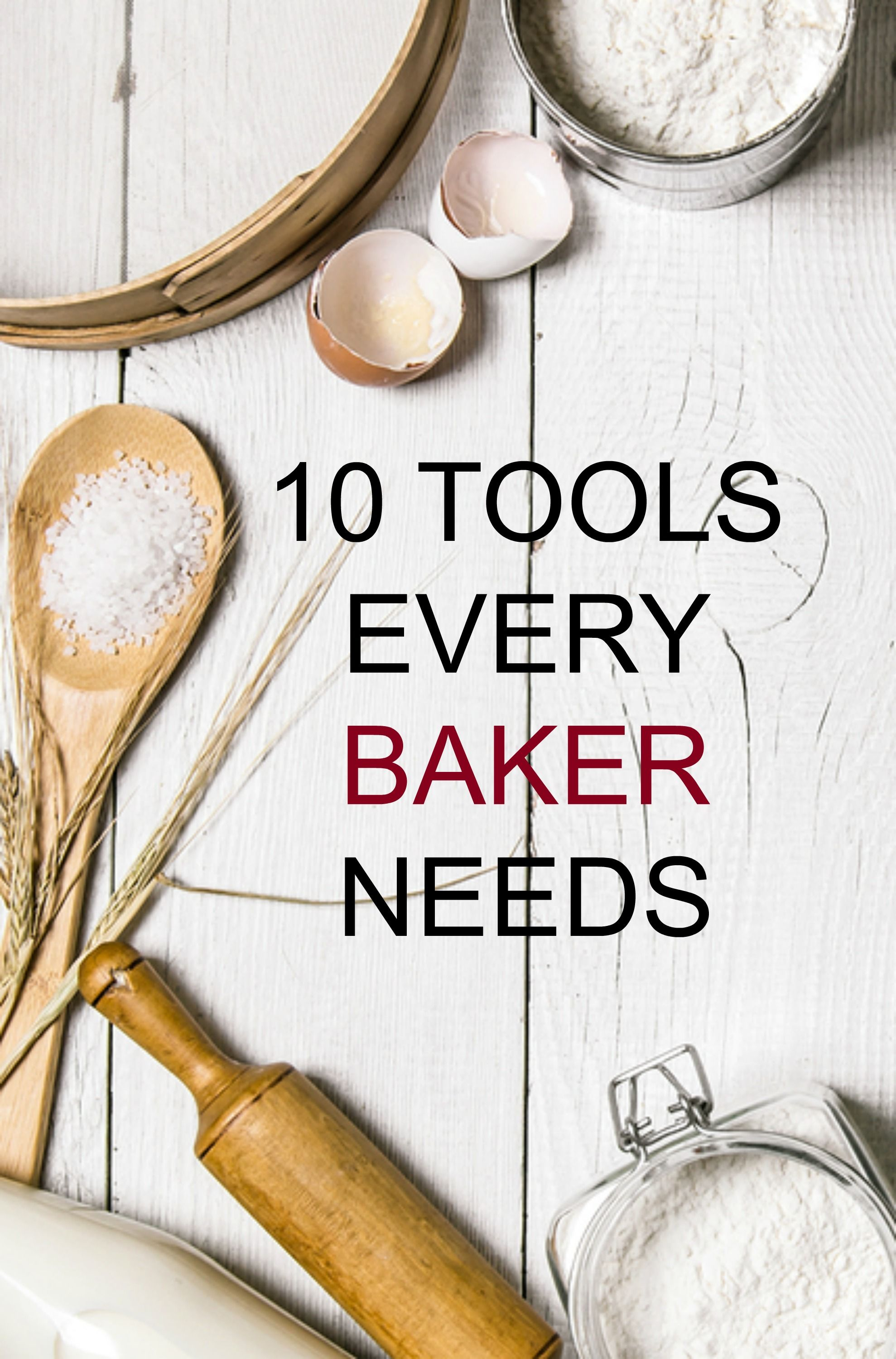 10 TOOLS EVERY BAKER NEEDS | Meal planning binder, Bakery supplies ...