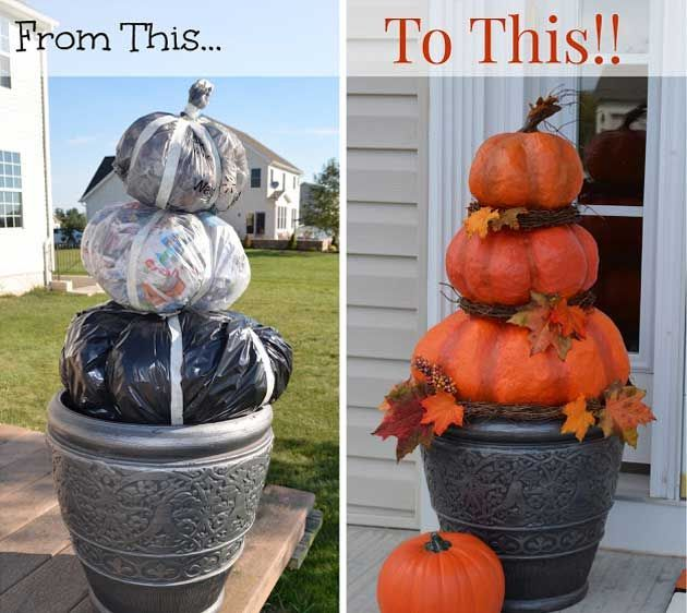 Fall is here and it is not early to start thinking about the way you - how to decorate home for halloween