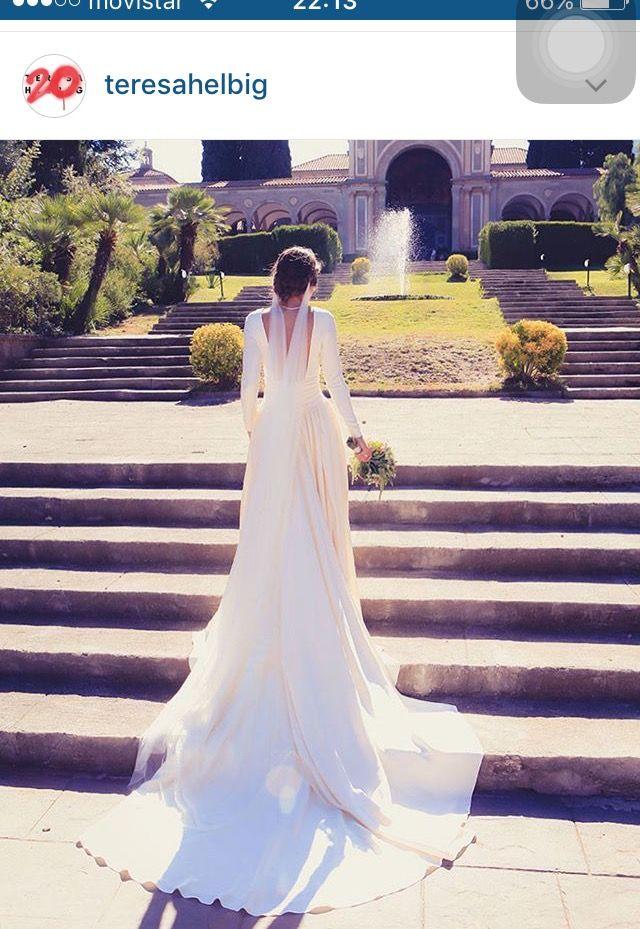 pin de alba. en vestits novia | boda, vestidos de novia y novios