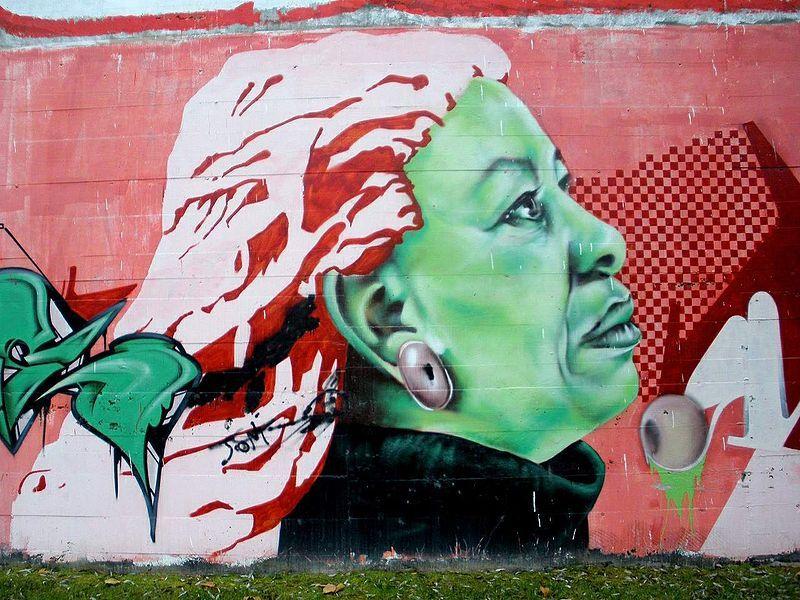 Toni Morrison Graffiti Spain Author Love Street Art