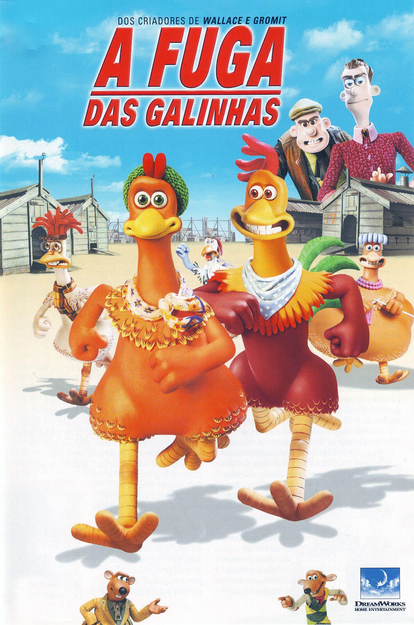 A Fuga Das Galinhas Com Imagens Filmes Infantis Filmes