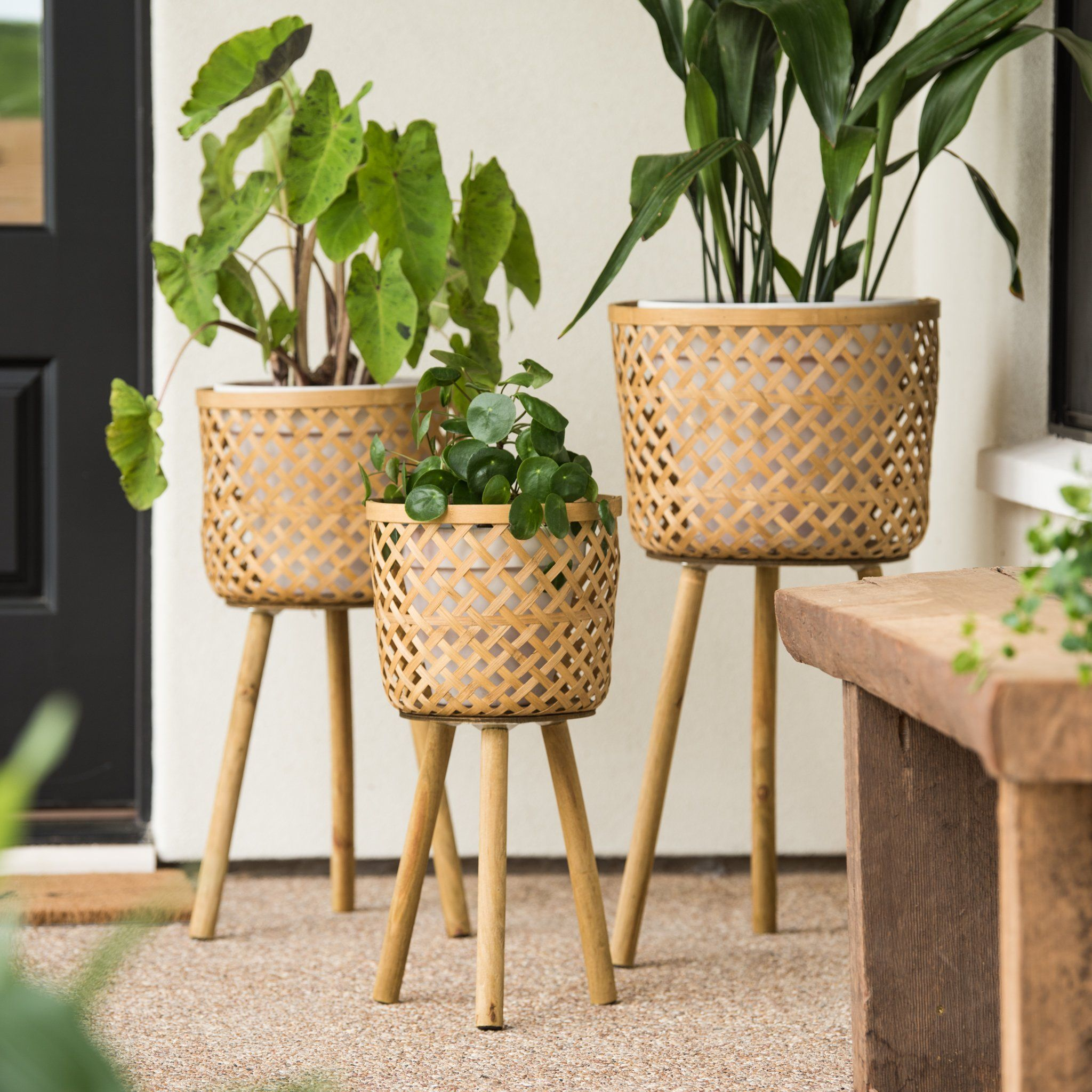 Bohemian Plant Stand #diyplantstand