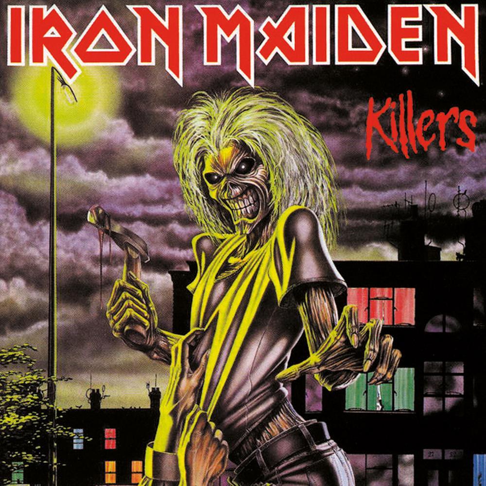 Iron Maiden Killers Iron Maiden Albums Iron Maiden Album Covers Iron Maiden Cover