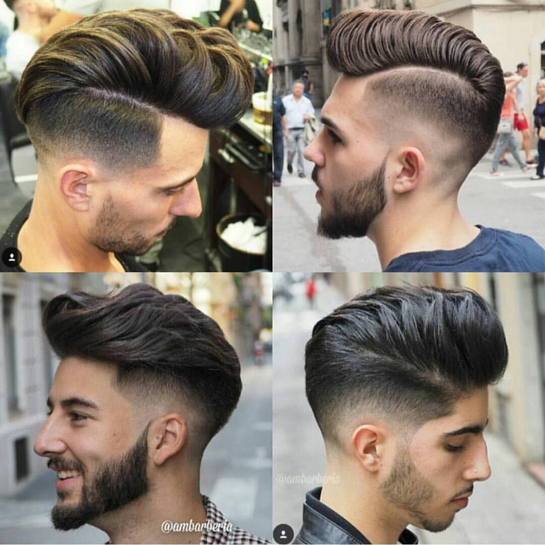 Men's haircut side part mens hair on instagram ucrg ambarberia sidepart menshairstyle