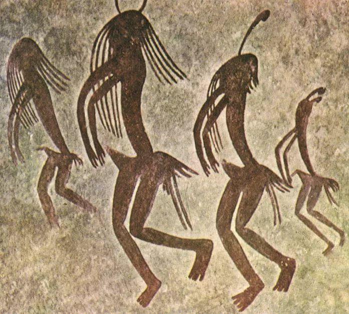 Танец. Роспись Льейда. Испания.: 14 тыс изображений ...