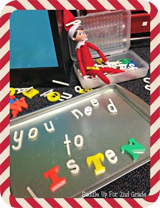 Elf on the Shelf Ideas for the Classroom - Page 4 of 15