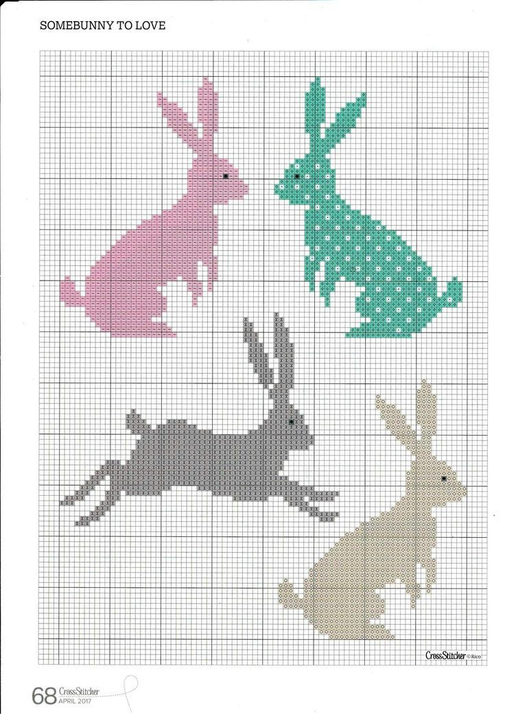 Photo of Cat Mermaid Unicorn cross stitch pattern, pdf Xstitch, fantasy animal, cute mermaid