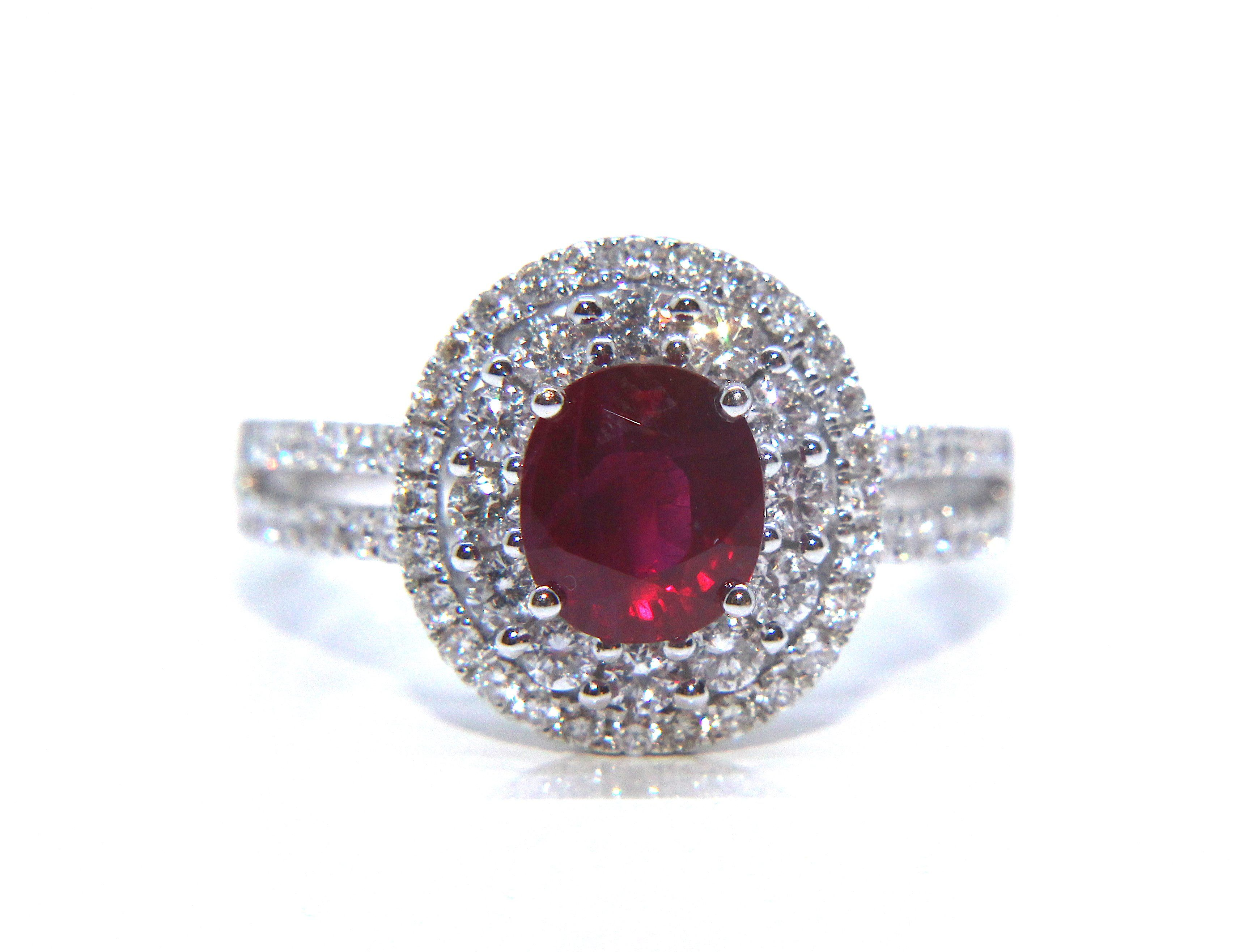 Campbell ct white gold ruby diamond ring ct from campbell