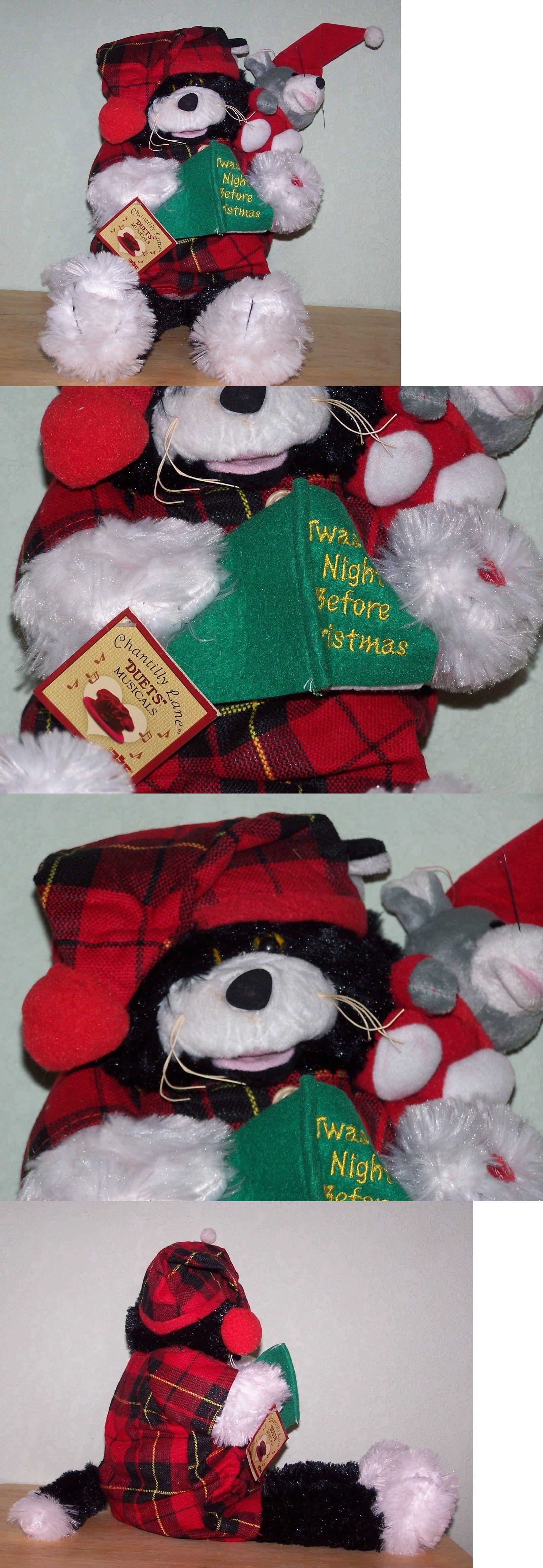 Talking Toys 145945 Twas The Night Before Christmas Plush