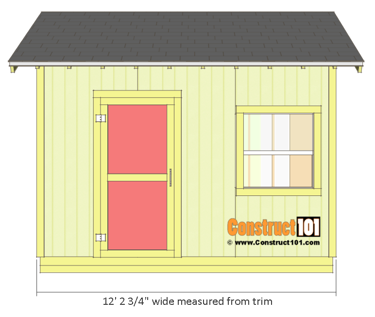 All About Concrete Block Storage Shed Plans 10x12 Shed Drawings