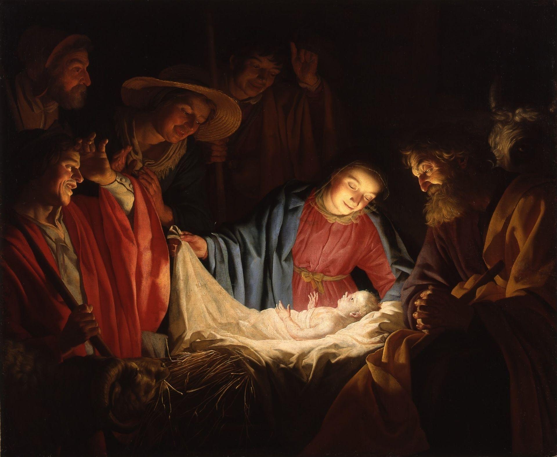 Weihnachten Wikipedia.Gerard Van Honthorst Adoration Of The Shepherds 1622 Nativity
