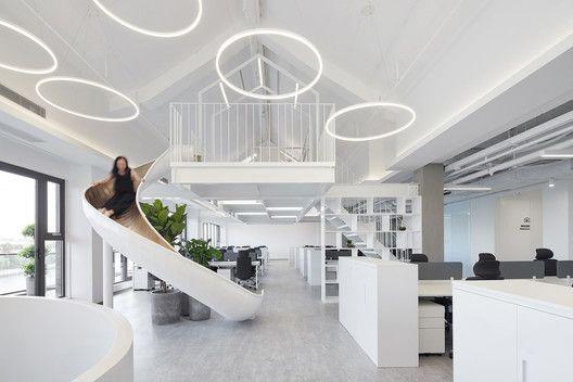 DayOne Legal  Technology Building / Ideal Lights Design - hi tech loft wohnung loft dethier architecture