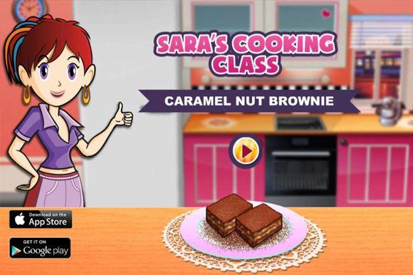 Game Masak Sara Untuk Anak Perempuan Edisi Membuat Kue Brownies