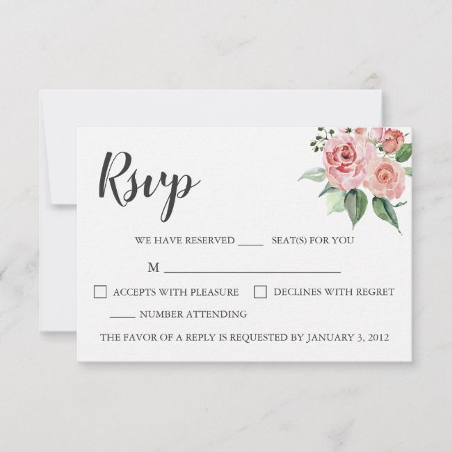 Create your own Response Card   Zazzle.com