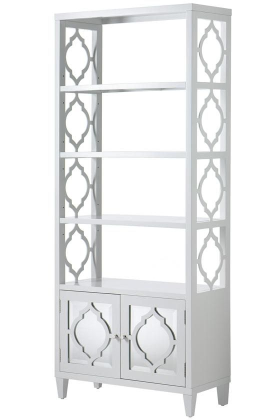 A lattice-designed and mirrored bookcase. #organization - A Lattice-designed And Mirrored Bookcase. #organization Home