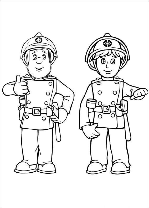 Ausmalbild Feuerwehrmann Sam Feuerwehrmann Sam Feuerwehrmann Sam