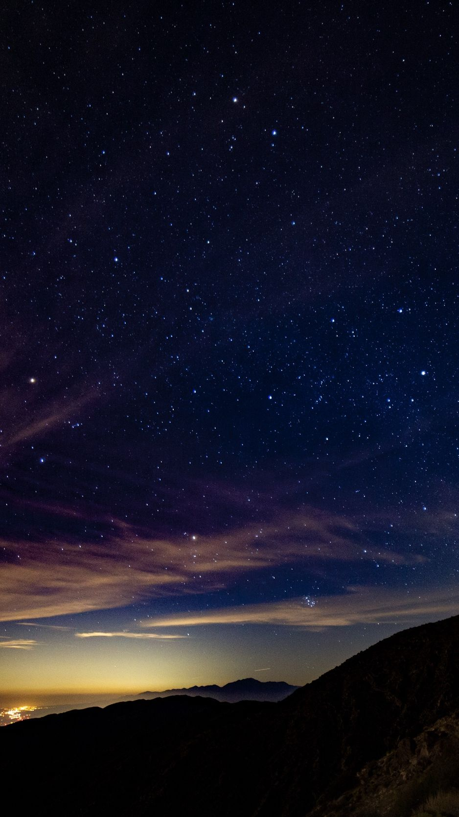 Starry Sky Mountains Stars Night Background Night Sky Photography Night Sky Wallpaper Sky Aesthetic