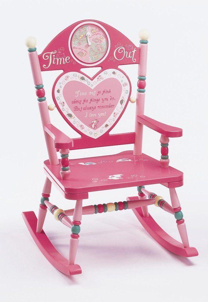 Rocking Chair For Kids Girl Time Out Rocker  Fun Stuff