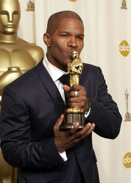 Signed Earnest Jamie Foxx. With His Academy Award