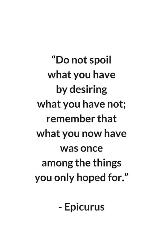 EPICURUS STOIC PHILOSOPHY QUOTE Canvas Print by IdeasForArtists