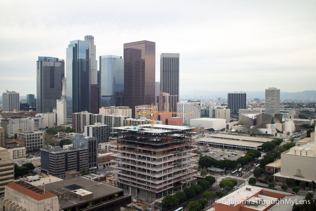La Observation Deck In City Hall Los Angeles Best Free View California Through My Lens Explore California Los Angeles Travel California City