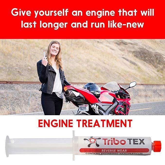 Amazon com: TriboTEX Oil Additive Car Engine Treatment: Add to