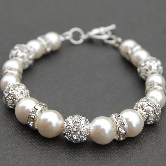 Statement Bridal Bracelet Wedding Jewelry Rhinestone Etsy In 2020 Swarovski Crystal Bracelet Bridal Bracelet Wedding Bracelet