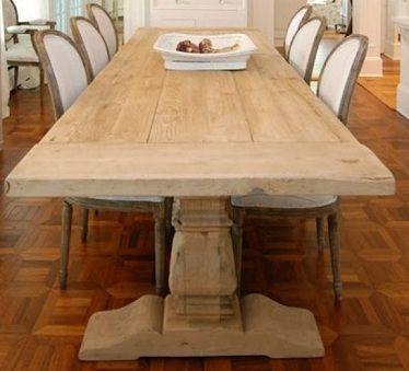 Handmade Plank Dining Table Ebay Amish Rustic