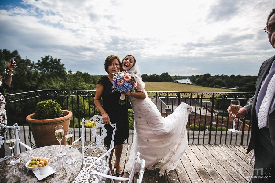 Wedding Photography Petersham Hotel Richmond Photographer Warwickshire