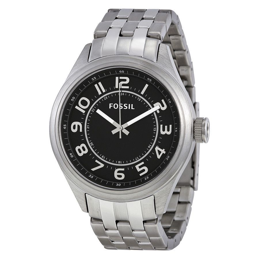 fe9282da5d6 FOSSIL® Asher Three-Hand Stainless Steel Watch