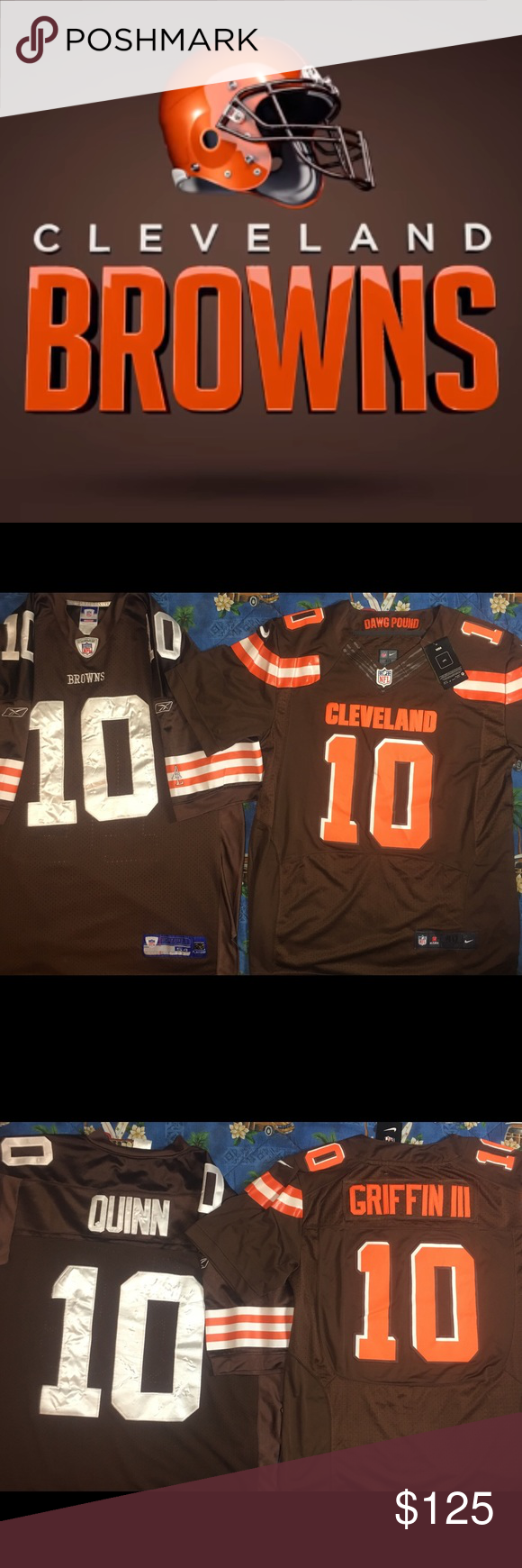new concept e24be 648f2 Cleveland Browns Jersey Bundle Prove you are the #1 ...