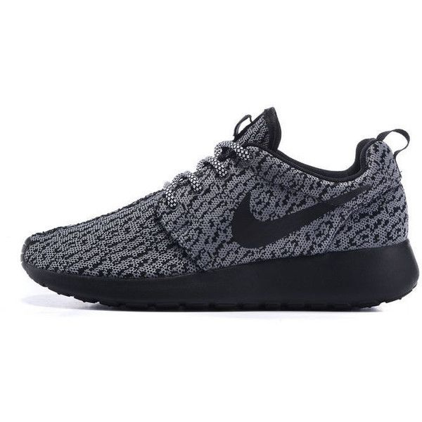 526904027fbf2 ... france custom nike roshe yeezy boost 350 run sneakers athletic running  womens 103 liked on polyvore