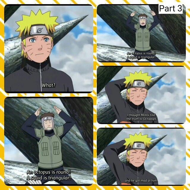 Naruto, Yamato, squid, funny, text, comic, quote; Photo ...