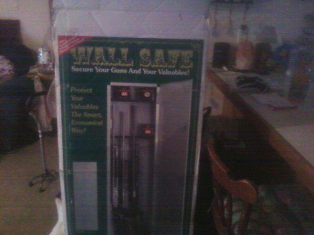 In the Wall Gun Safe in bandb's Garage Sale in Brazil , IN for $100. In the wall gun safe- NEW   Fits between studs