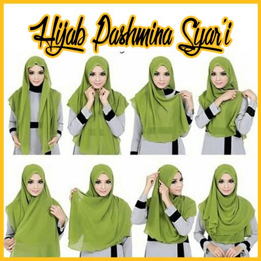 Fashion Tutorial Hijab Pashmina In 2020 Hijab Tutorial Hijab Style Tutorial Hijab Style Casual