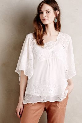 Meadow Rue Carwen Embroidered Top