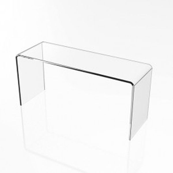 """4 Clear Acrylic Plastic Risers Display Stand Pedestal 7/"""" X 7/"""" X 7/"""""""
