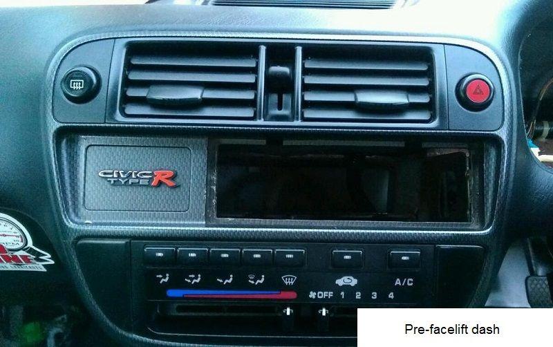 Type R Honda Civic Ek9 Civic Type R Badging Dashboard Honda Civic Type R 2000 Honda Civic Honda Civic
