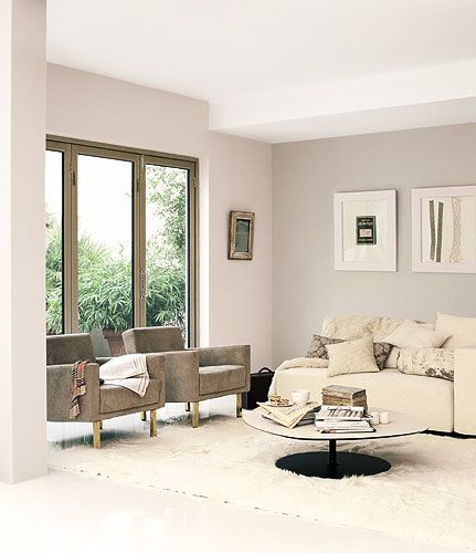 I 39 m really loving the look of light walls and darker for Dulux paint living room ideas